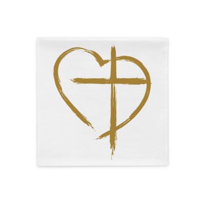 Jesus in My Heart - Pillow Case