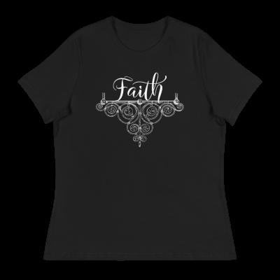 Faith - Women's Relaxed T-Shirt