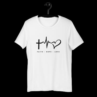 Faith Hope Love - Short-Sleeve Unisex T-Shirt