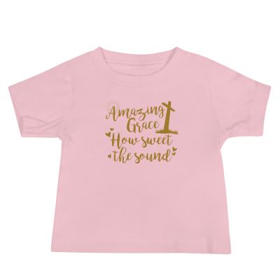 Amazing Grace - Baby Jersey Short Sleeve Tee