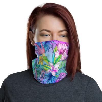 Flamingo Neck Gaiter & Face Mask