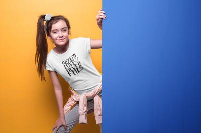 God's Love Never Fails - Youth Short Sleeve T-Shirt