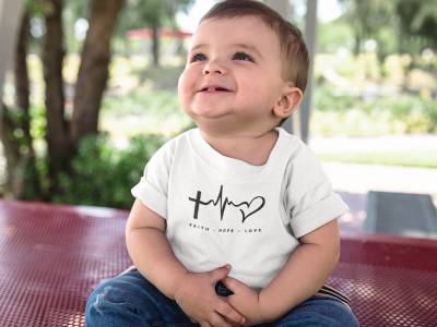 Faith Hope Love - Baby Jersey Short Sleeve Tee