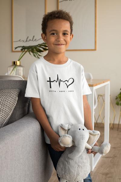 Faith Hope Love - Toddler Short Sleeve Tee