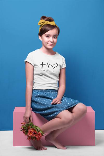 Faith Hope Love - Youth Short Sleeve T-Shirt