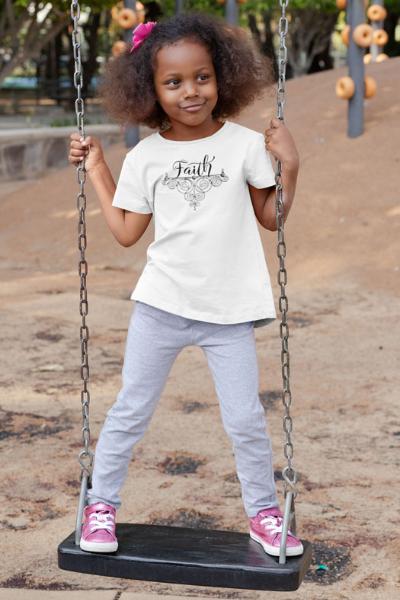 Faith - Toddler Short Sleeve Tee