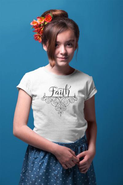 Faith - Youth Short Sleeve T-Shirt