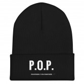 "P.O.P. ""Purposely On Purpsose"" - Cuffed Beanie"