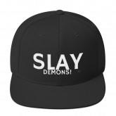 "Slay demons"" -Snapback Hat"
