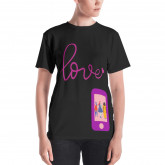 Love Women's T-shirt by  CUTEgirlUGLYselfie