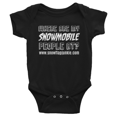 Jr. Snowmobile People - Infant Bodysuit