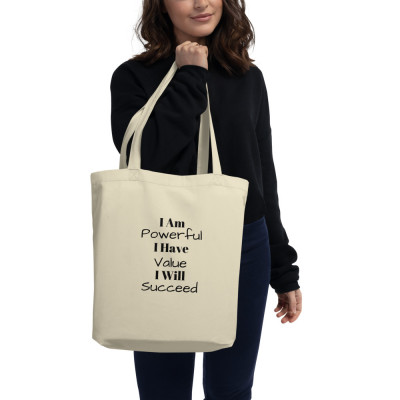 I Am Powerful Eco Tote Bag