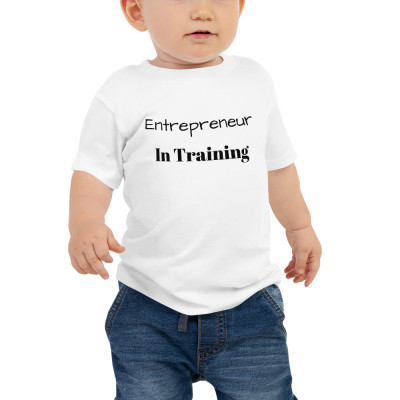 Entrepreneur In Training Baby Jersey Short Sleeve Tee