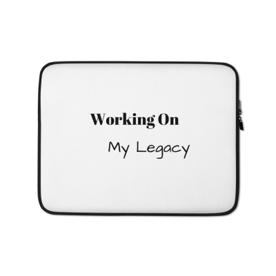 Working On My Legacy Laptop Sleeve