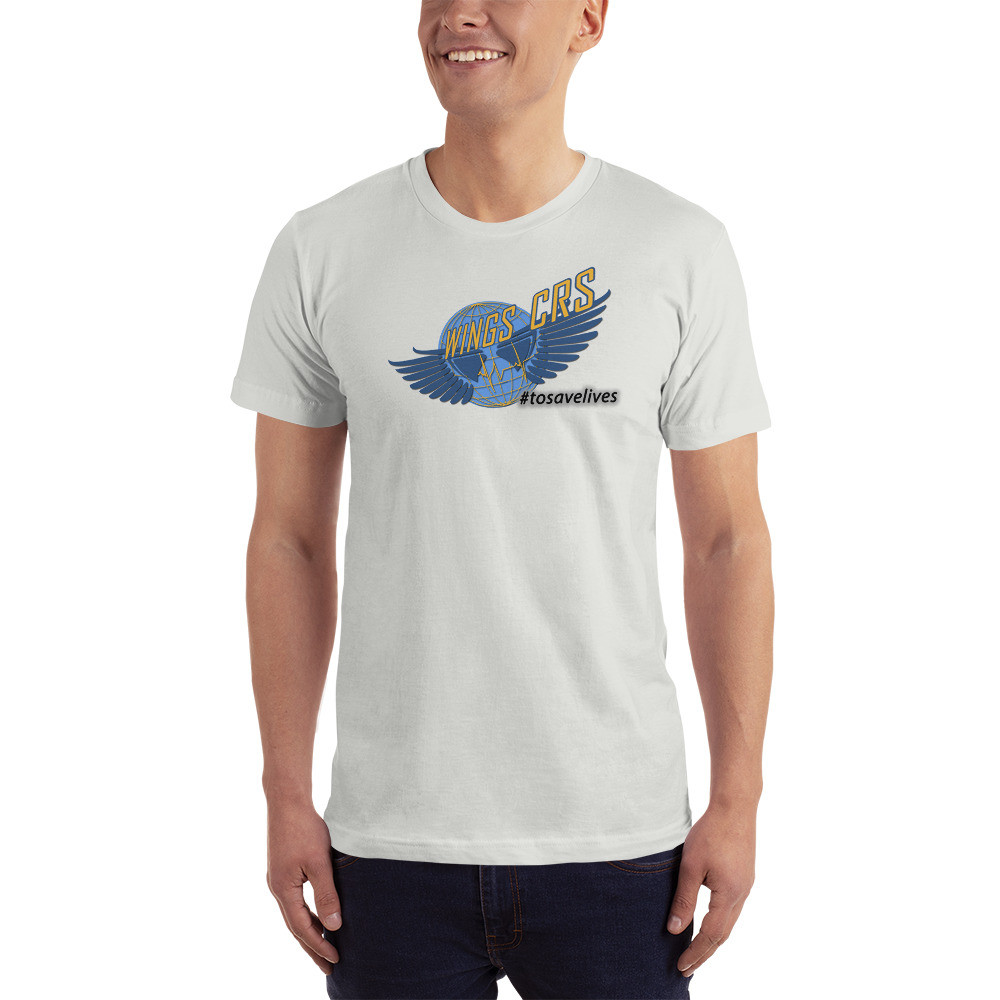 Wings CRS #tosavelives Mens T-Shirt