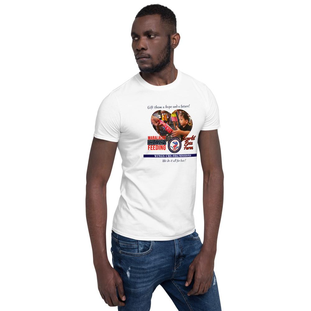 Mabalacat Philippines Emergency Feeding Mission - Save Lives Short-Sleeve Unisex T-Shirt