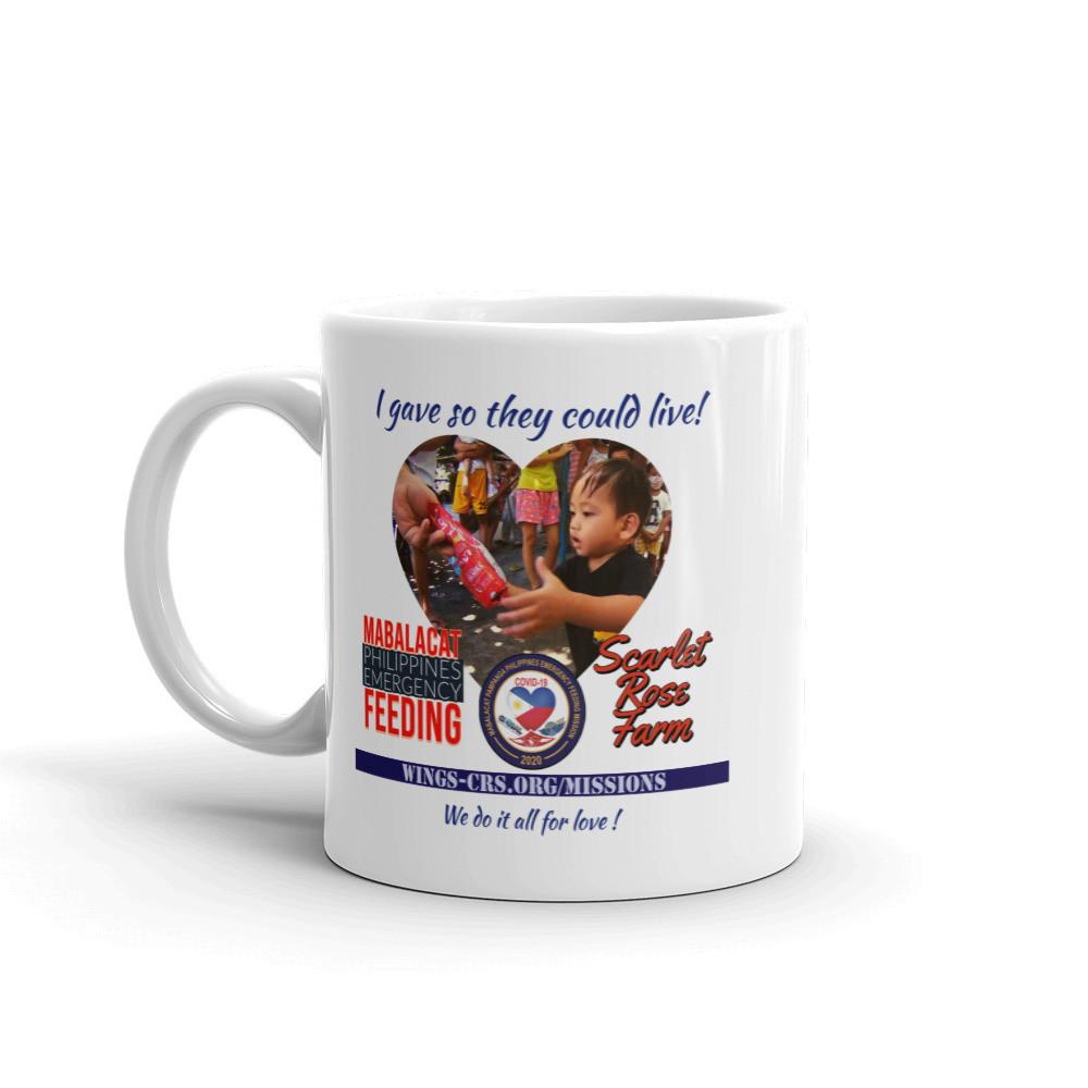 Mabalacat Emergency Feeding Mission - I Gave - Official Mug