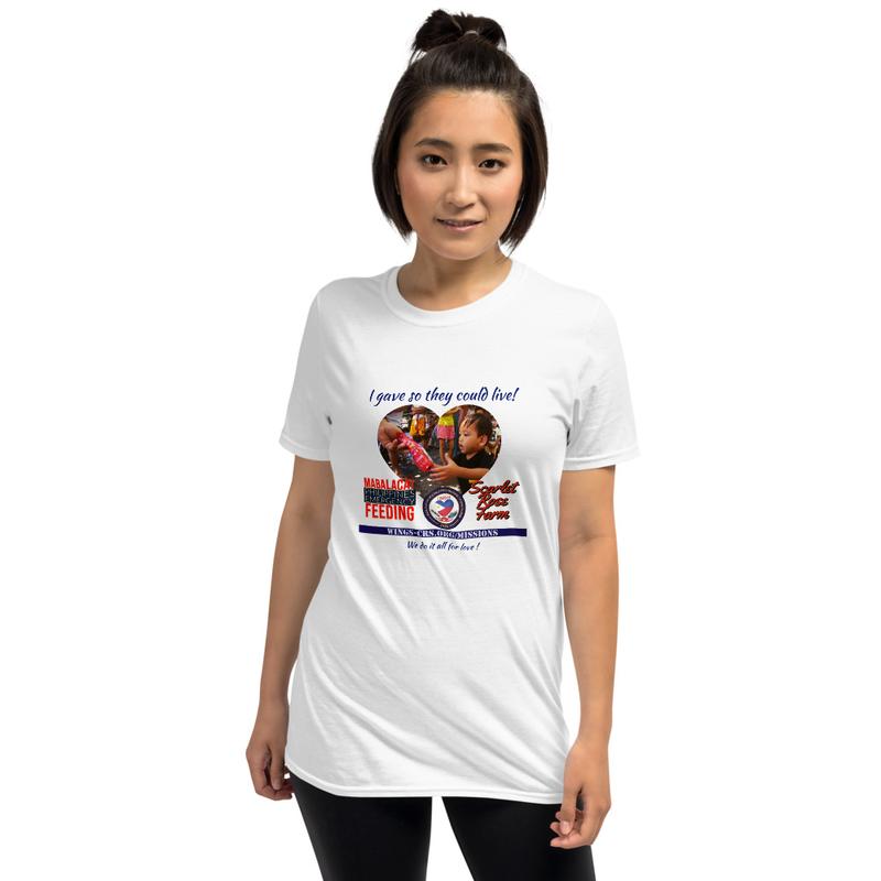 Mabalacat Emergency Feeding Mission - I Gave- Official Unisex T-Shirt