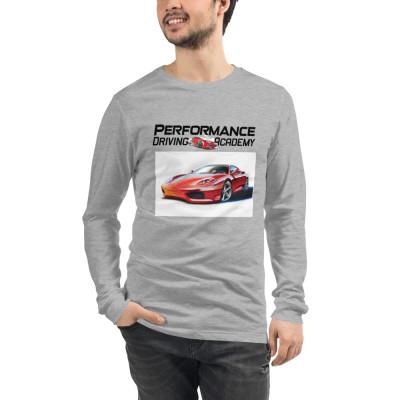 Performance Driving Academy Ferrari - Unisex Long Sleeve Tee