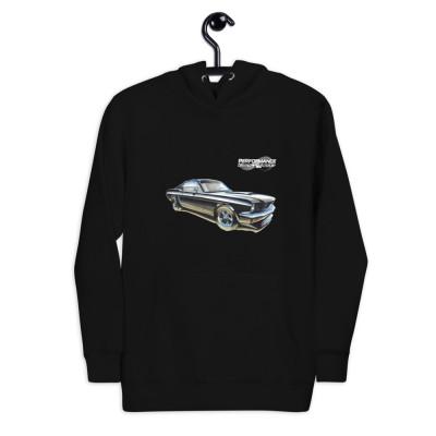 1965 Mustang Fastback - Unisex Hoodie