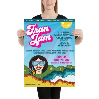 Fran Jam - Poster 18x24