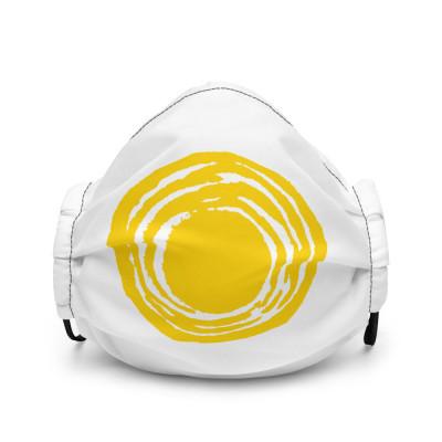 Cancer Schmancer Logo - Face mask