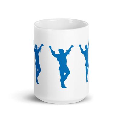 A- Dancing Greek Mug