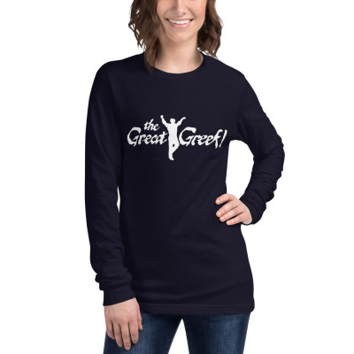 A- The Great Greek Unisex Long Sleeve T-Shirt