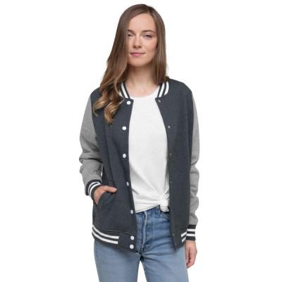 The Great Greek Women's Letterman Jacket
