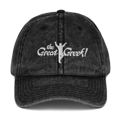 The Great Greek Vintage Cotton Twill Cap