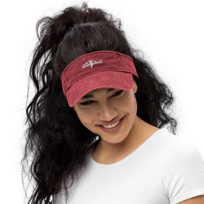 A- The Great Greek Denim visor