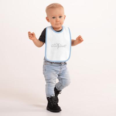 W- The Great Greek Baby Bib