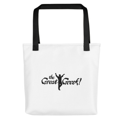 A- The Great Greek Tote Bag
