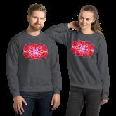 Heart Flower Unisex Sweatshirt