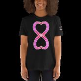 Infinity Heart T-Shirt - Heart Art Collection