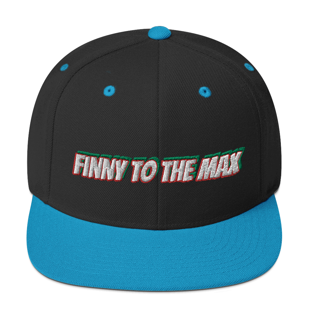 Text Snapback Hat