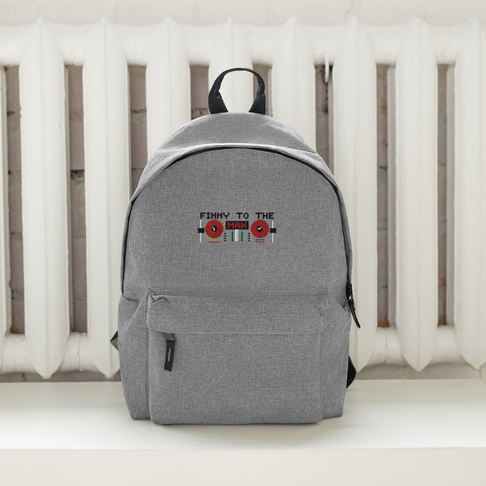 Embroidered Backpack