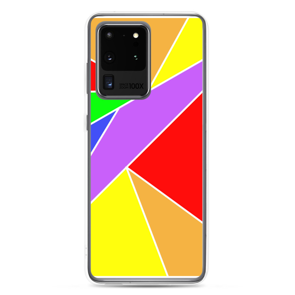 Rainbow Pattern Samsung Phone Case