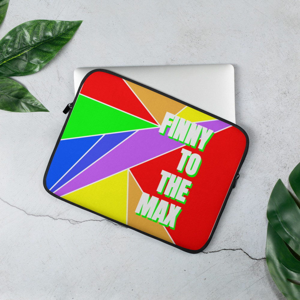 Rainbow Logo Laptop Sleeve