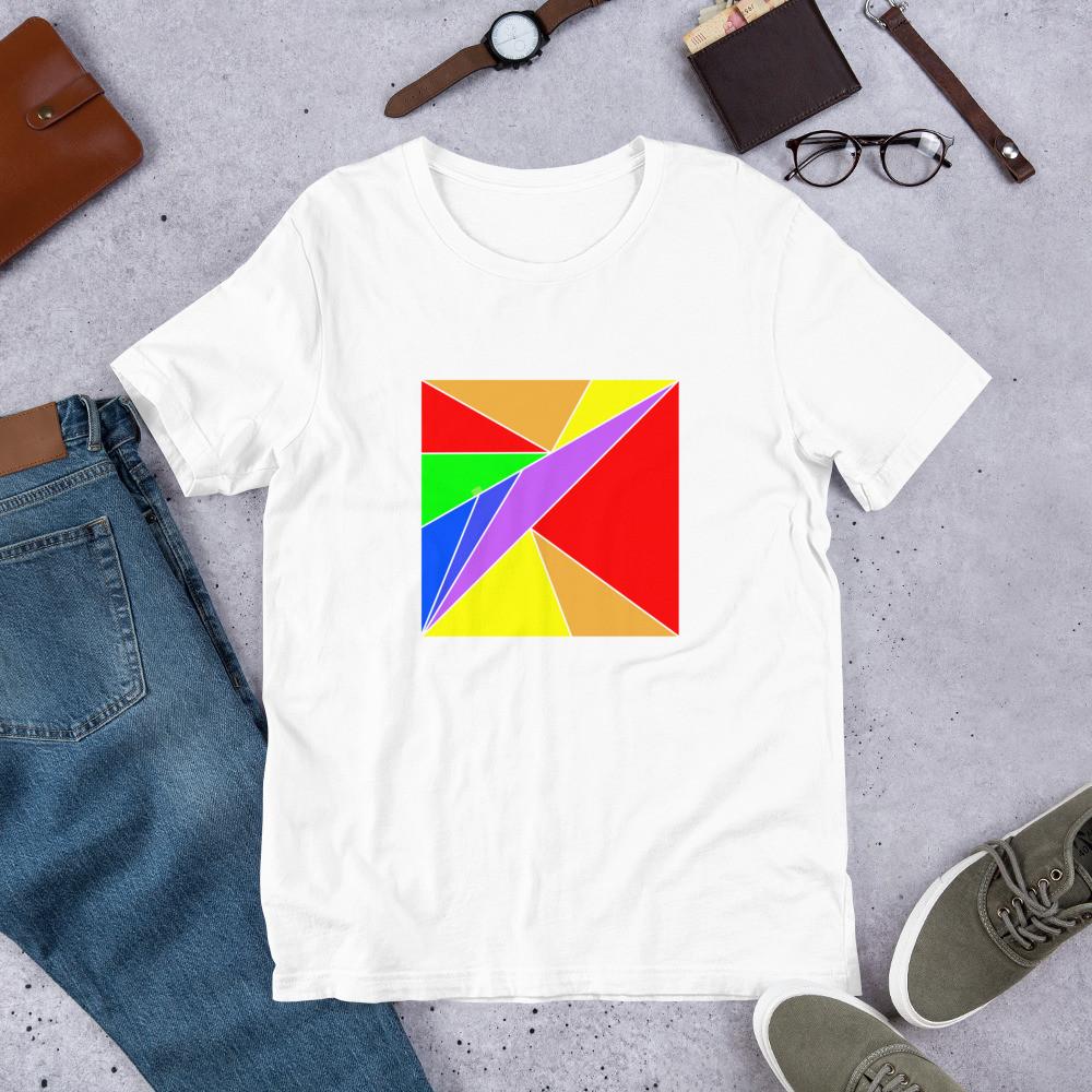 Rainbow Pattern T-Shirt