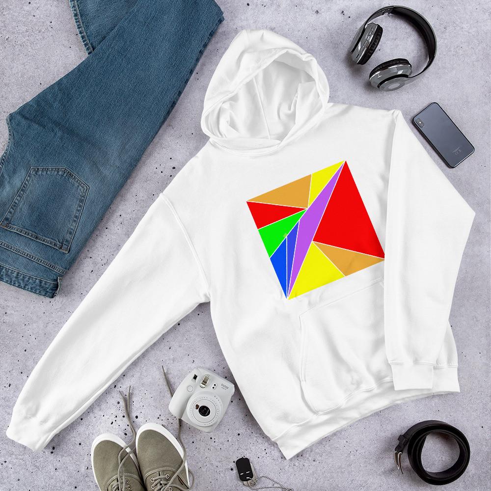 Rainbow Pattern Hoodie