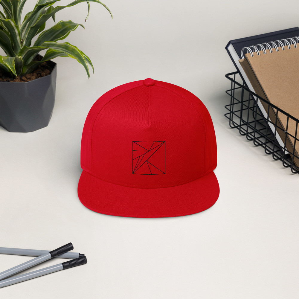 Pattern Snapback Cap