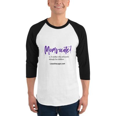 3/4 sleeve raglan shirt - Momvocate!