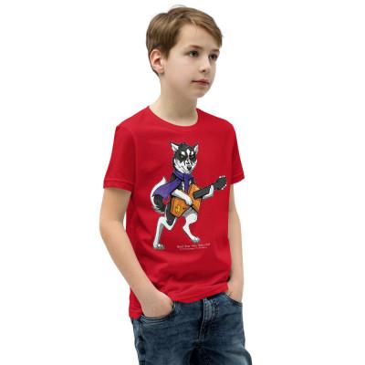 Youth Short Sleeve T-Shirt Wild Child Rock Star Merc