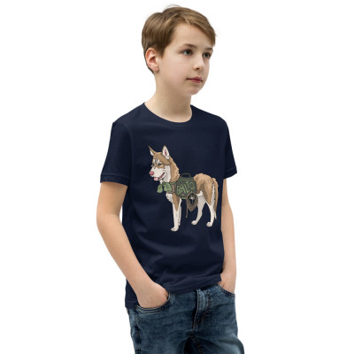 Youth Short Sleeve T-Shirt Balto To The Rescue