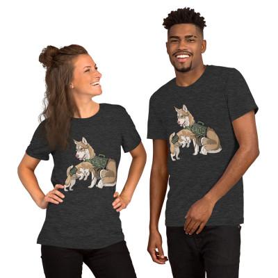 Balto and Jenna Short-Sleeve Unisex T-Shirt