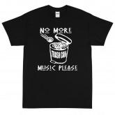 No More Trash Can Music Short Sleeve T-Shirt
