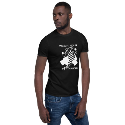 Wash Your Nasty Hands Short-Sleeve Unisex T-Shirt