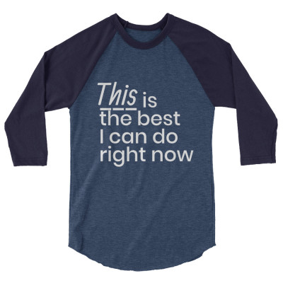 This is the best I can do right now - deydreaming mindful outerwear - 3/4 sleeve blue shirt