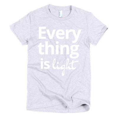 everything is light - deydreaming outerwear - gray short sleeve t-shirt